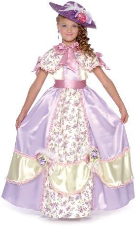 CARITAN 93203 - Disfraz infantil de dama de Carolina del sur (5-7 ...