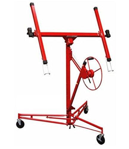 Heaven Tvcz Hoist Winch Holder Heavy Duty Portable Lift Sheetrock Wheel Drywall Panel Tool