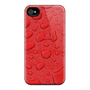 Premium HTC One M8 Cases - Protective Skin - High Quality For Red Water Drops by icecream design