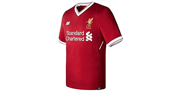 21d5feae8c0b9 New Balance 2017-2018 Liverpool Home Football Shirt (Kids)  Amazon.com.mx   Deportes y Aire Libre