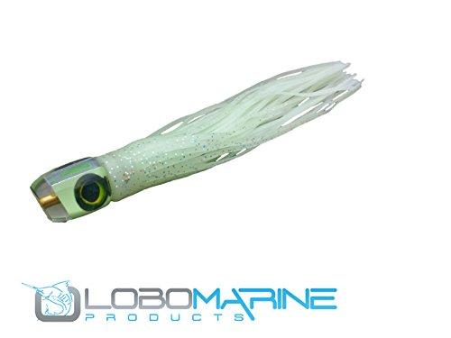 Pelagic Magic Super Glow Marlin Trolling Lures By Lobo Sportfishing Made in the USA Tuna, Mahi Billfish (Natural)