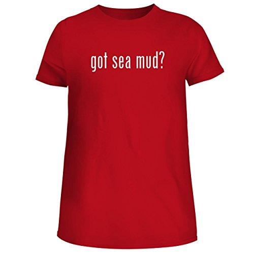 got sea mud? - Cute Women's Junior Graphic Tee, Red, Large