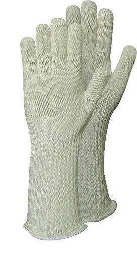 GENUINE COOLSKIN HEAT RESISTANT ANTI BURN FULL LENGTH GAUNTLETS SIZE 8 MEN'S SMALL LADIES MEDIUM by cool skin