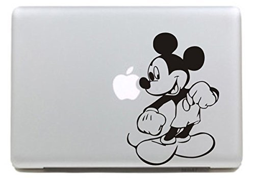 Vati Leaves Removable Cute Cartoon Disney Come Mickey Vinyl Decal Sticker...
