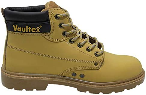 4f80f9205a2ff Safety Shoes High Ankle Executive: Amazon.ae: Jahangir125