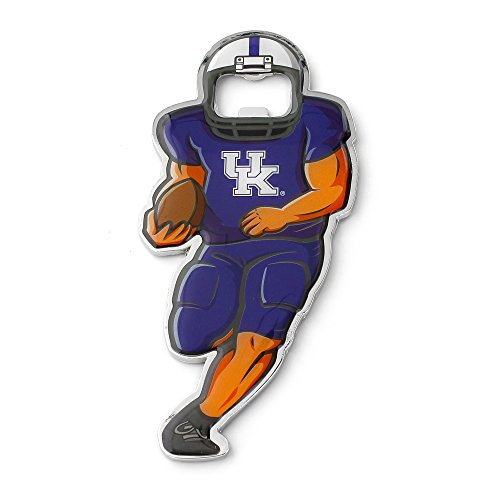 aminco NCAA Kentucky Wildcats Player Bottle Opener Magnet Kentucky Wildcats Player