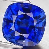 6.88ct Cushion Blue Natural Sapphire Loose Gemstone
