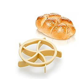 Negly (TM0 Delicious Homemade Bread Rolls Mold for Bread Kaiser Line Mould Kitchen Pastry Baking Tools