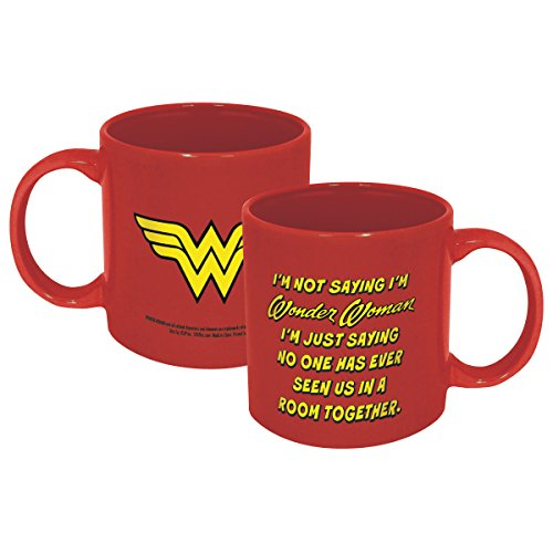 ICUP 7584 DC Wonder Woman Not Saying Mug, Multicolor