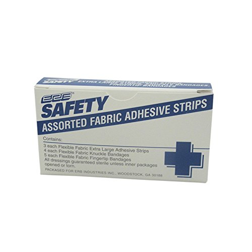 Ergonomics INC Safety 15486 Adhesive Strips Assorted Refills