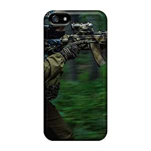 New Style 6Plus Hard Case Cover For Iphone 5/5s- Forest In The Special Forces Kimberly Kurzendoerfer