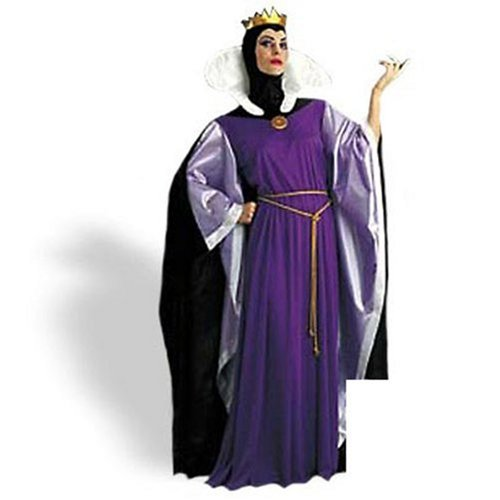Std Size Women (12-14) - Disneys TM Snow White  EVIL Queen (White Queen Halloween Costume)