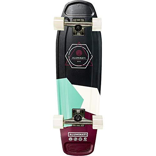 Aluminati Skateboards Olliegon Tombstone Cruiser Complete Skateboard – 7.5″ x 26.5″