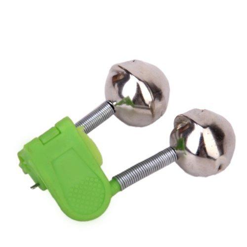 eoyhdsia 20pcs Pesca Rod Bell–Alarma de picada Twin Bell Ring