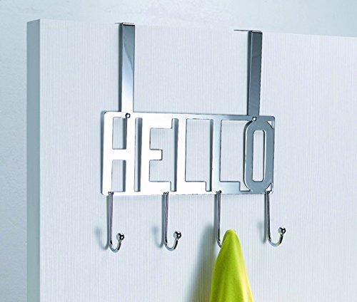 Compactor Hello 4 Ganchos Perchero para Puerta