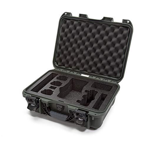 Nanuk DJI Drone Waterproof Hard Case with Custom Foam Insert for DJI Mavic 2 Pro/Zoom - Olive