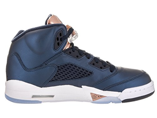 black white Black Basketball Air Nike 5 Men obsidian mtlc 's Jordan Red Shoes Bronze Retro Bg obsidian fUxvaAU