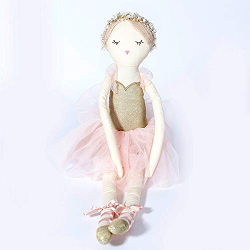 (Monami Ballerina Designer Plush Doll, Holiday Décor, Kids Plush, Stuffed Toy, 20