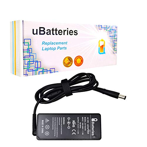 UBatteries Compatible 18.5V 65W AC Adapter Charger for HP Pavilion Envy dv3 dv3t dv4 dv4t dv4z dv5 dv5t dv5tse dv6 dv6t dv6z dv7 dv7t m4 m6 Pavilion 1000 Pavilion 2000 2000t 2000z Series