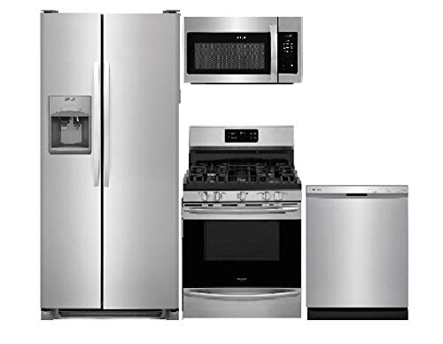 Frigidaire 4 Piece Stainless Steel Kitchen Package FFSS2615TS 36