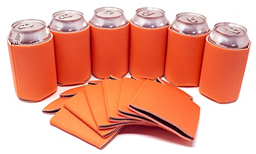 TahoeBay 12 Can Sleeves - Bright Orange Beer
