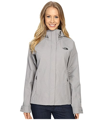 (The North Face Women's Novelty Venture Jacket (X-Large, Mid Grey Stripe))