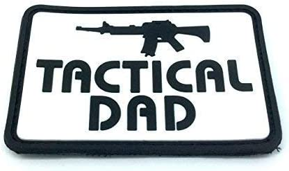 Tactical Dad Airsoft PVC Moral Parche: Amazon.es: Deportes y aire libre