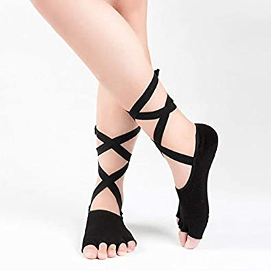 HATCHMATIC Calcetines Yoga 1 par de algodón Mujeres ...