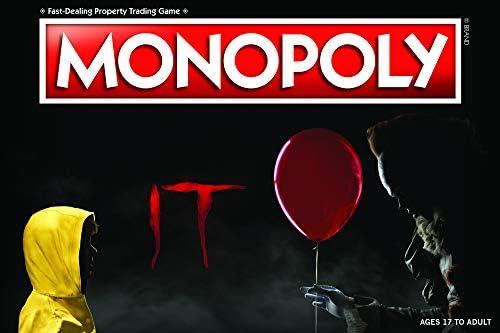 [해외]Monopoly IT 보드 게임 | 2017 드라마  스릴러 IT 기반 | 공식 라이센스 IT 상품 | 테마 클래식 모노폴리 게임 / Monopoly IT Board Game | Based on The 2017 DramaThriller IT | Officially Licensed IT Merchandise | Themed Classic Monopoly Ga...