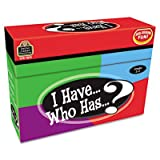I Have Who Has Game, Grades 2-3, Class Play, 37 Cards/Game, 148/Box, Sold as 1 Each