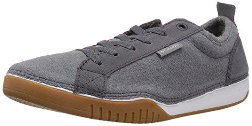 Columbia Men's Bridgeport Lace Wool Sneaker, Ti Grey Steel, Grey Ice, 12 Regular US