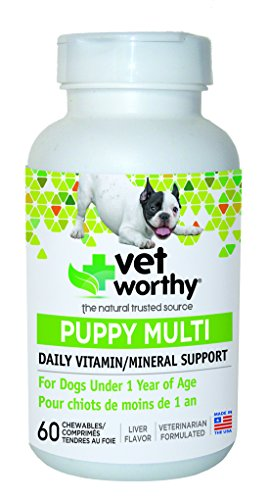 Vet Worthy Puppy Multi Chewables for Dogs (60 Count) For Sale
