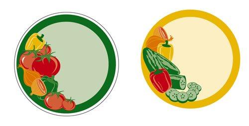 Versatile Veggie Labels, Pack of 40