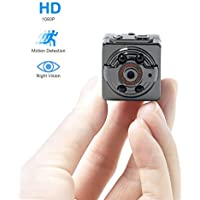TANGMI Mini Spy Camera Full HD 1080P 720P Mini DV Camera 12.0MP Dash Camera DVR Recorder Motion Detection Wireless Aluminum Video Camcorder TV OUT Infrared Night Vision