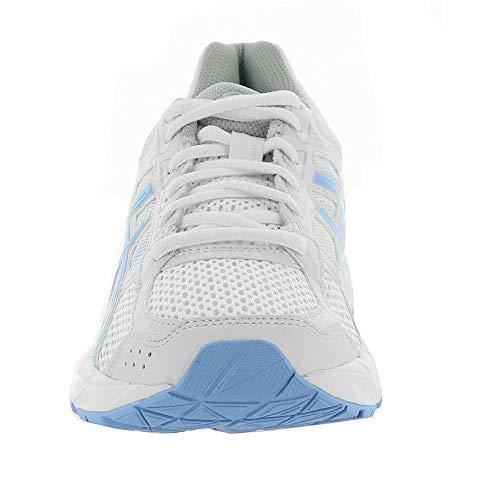 Gel White ASICS Contend Running Shoe 4 Women's Bluebell 5gw4SwqPx