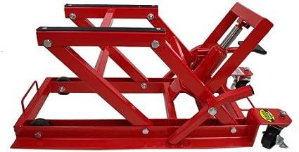 De moto ATV Quad plataforma elevadora 680 kg de reparación gato elevador de moto: Amazon.es: Bricolaje y herramientas