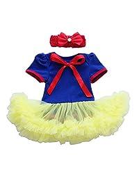 IBTOM CASTLE Baby Girl Princess Party Costume My 1st Halloween Tutu Dress