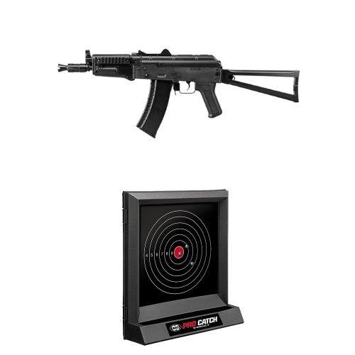 【セット商品】 AK74U (10歳以上電動ガン ライトプロ) + ターゲットセット B01LXTT991  ターゲットセット