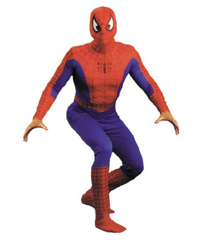 Spiderman Teen Costumes (Spider-Man Adult Halloween Costume, XL)