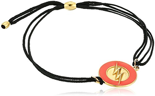Alex and Ani Kindred Cord, Justice League The Flash Charm Bracelet (Plated Gold Justice)