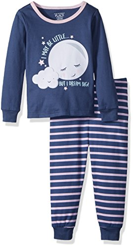 The Children's Place Baby Little Boys' Glow In The Dark 2 Piece Pajamas, Mystic Falls 91681, 5T - Kid 2 Piece Pjs