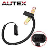 AUTEX Crankshaft Position Sensor PC41 5S1803 SS10221 4713427 56026882 compatible with 1993-1995 Jeep Wrangler 1993-1996 Jeep Cherokee/Grand Cherokee 1996 Dodge Dakota L4-2.5, V6-3.9L, V8-5.2L