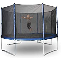 Action Sports Action Everyday 14ft Trampoline, Black/Blue