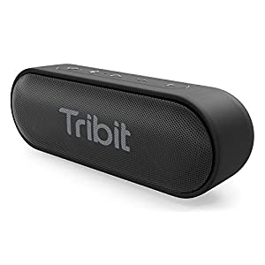 Tribit XSound Go Portable Bluetooth Speaker, 12W Wireless Speaker with Rich Bass, IPX7 Waterproof, 24-Hour Playtime, 66 FT Bluetooth Range & Built-in Mic, for Party, Travel [The Wirecutter¡¯s Pick]