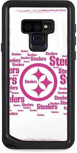 f3beaa40e Skinit NFL Pittsburgh Steelers Galaxy Note 9 Waterproof Case - Pittsburgh  Steelers Pink Blast Design -
