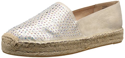 Harmonize Rund Flach Espadrille Frauen Pumps Gold Metallic Mountain White qzPEII