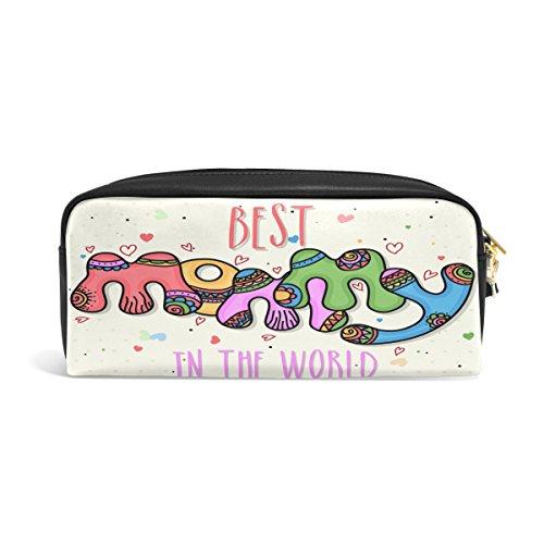 Bleistift Fall, Pen Tasche Make-up Tasche Geldbörse groß Kapazität Wasserdicht Best Mom Geschenk der Studenten oder Frauen