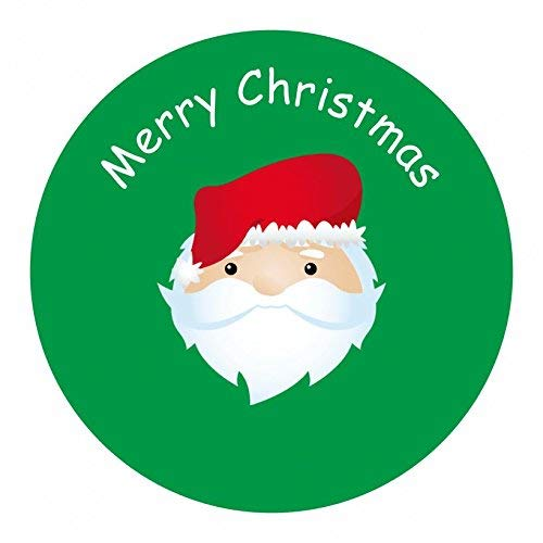 hiusan Personalised Christmas Labels - Santa