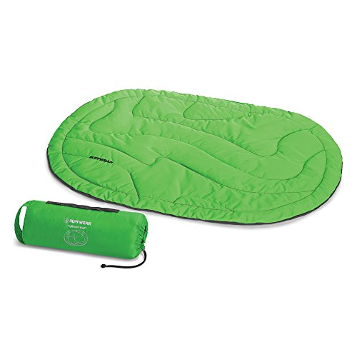 Ruffwear - Highlands Backpacking Bed for Dogs, Meadow Green, Medium