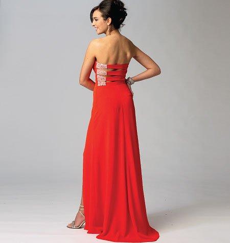Mccalls M6894 Misses Formal Dresses Long Short Size 12 20